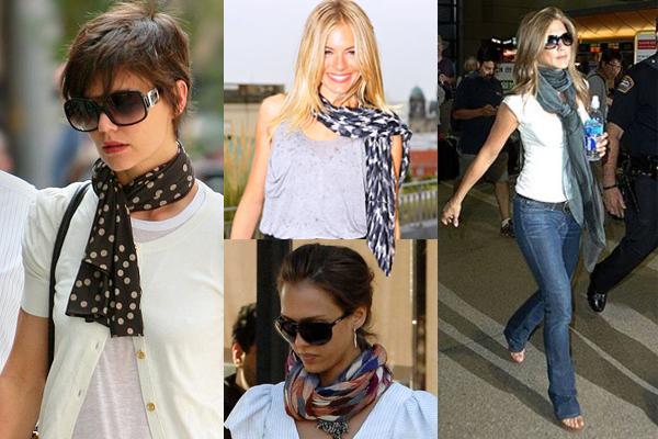 Fashion: Swooning over Summer Scarves