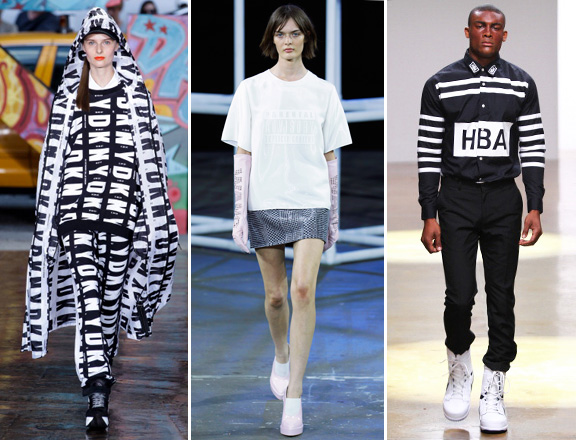 DKNY, Alexander Wang, and Hood By Air at SS2014