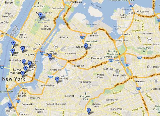 Bansky- Map