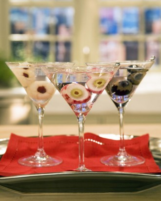 Halloween Cocktail- Eyeball Martini