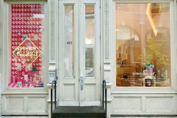 Birchbox store front