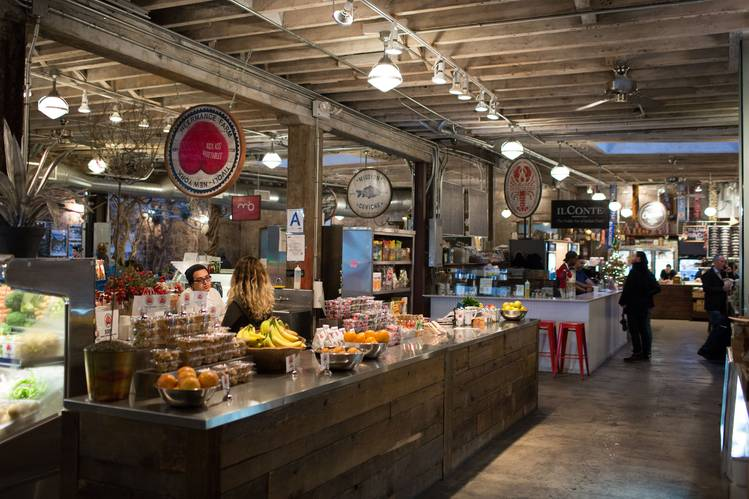 New york 5 fancy food courts that are not your average for American cuisine in nyc